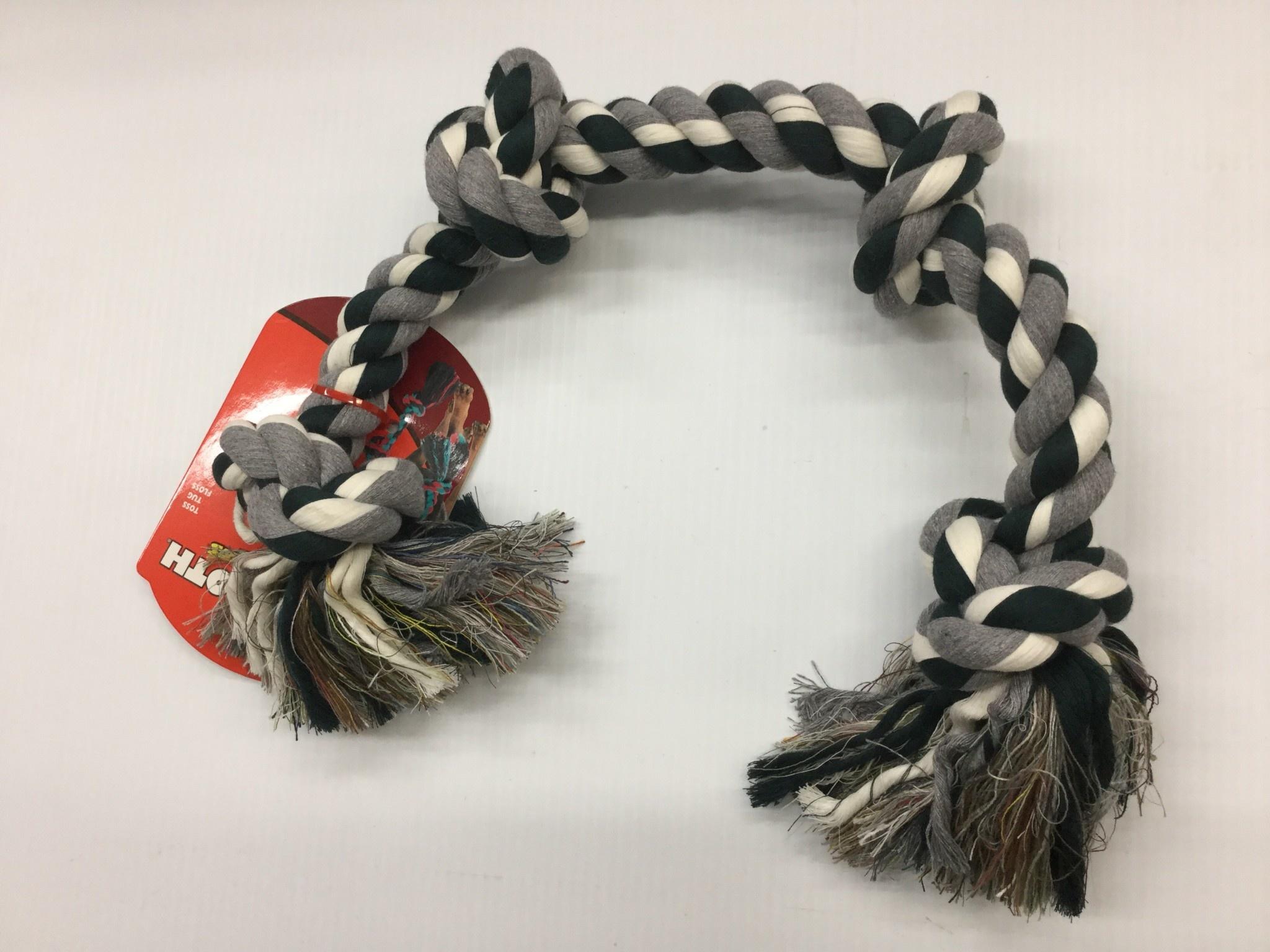Cotton Tug 4 Knot Coloured XLarge 31-4
