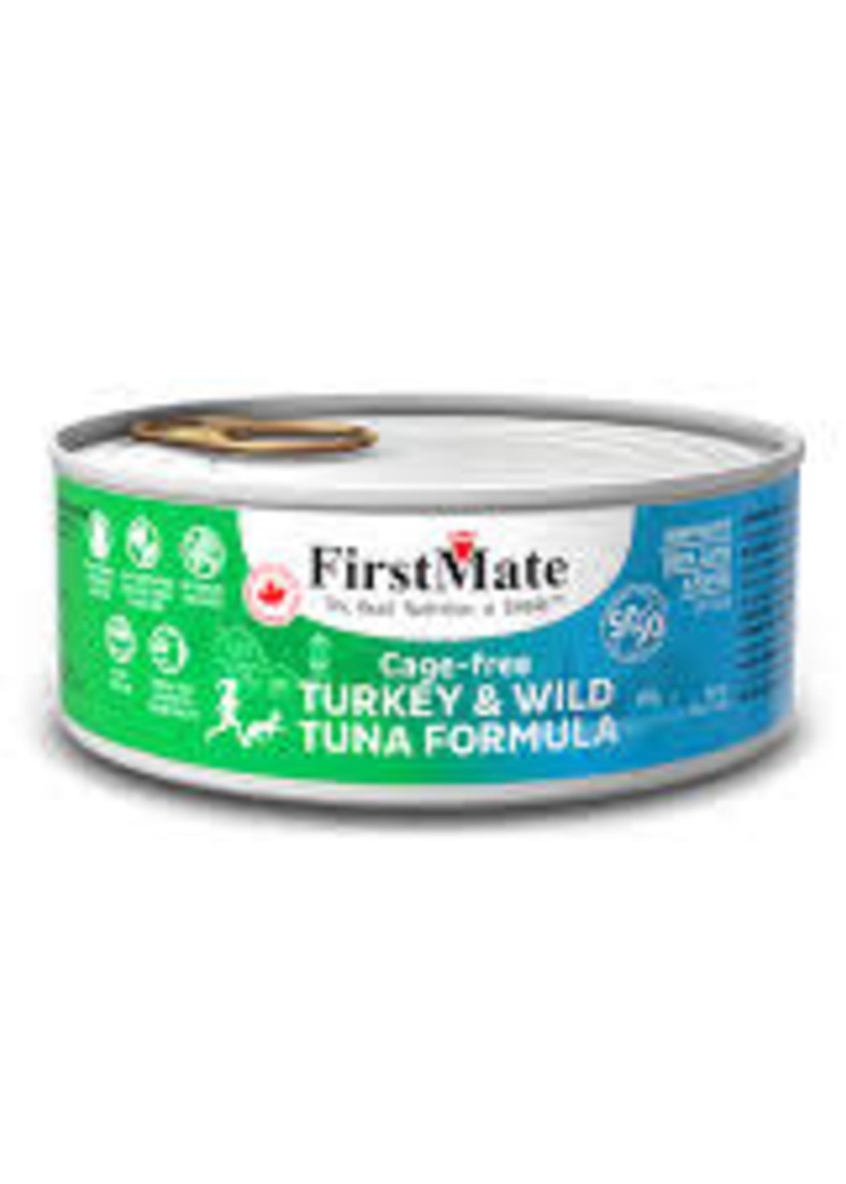 First Mate Free-Run Turkey/Wild Tuna 5.5 oz
