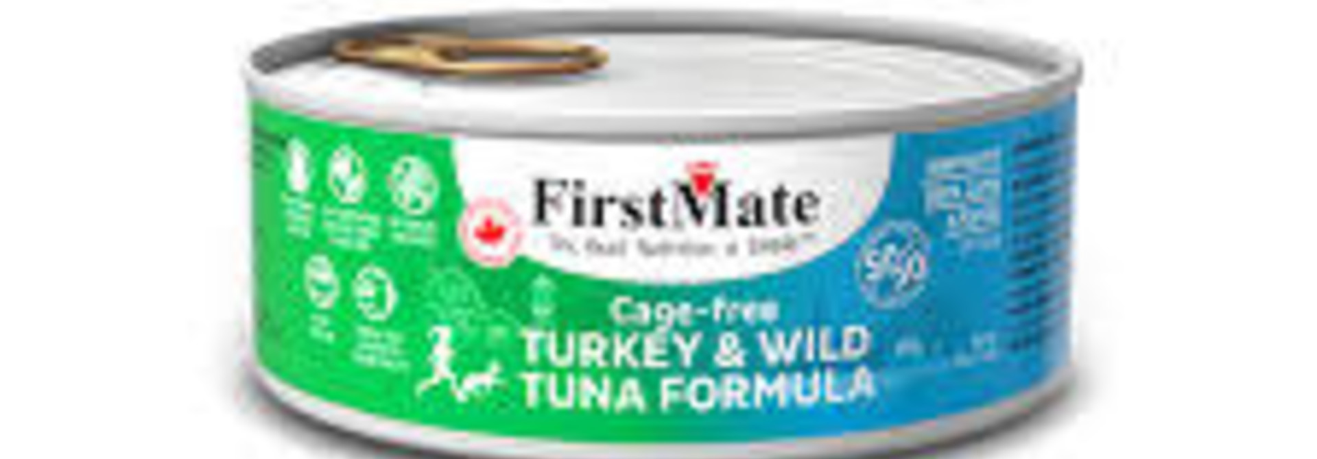 Free-Run Turkey/Wild Tuna 5.5 oz