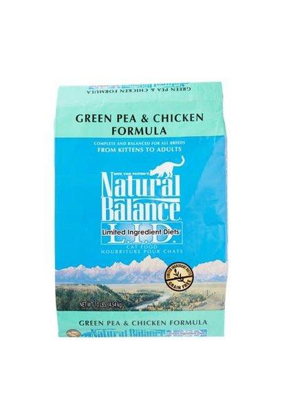Natural Balance Chicken & Green Pea 10LB Cat