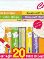 Inaba Inaba Churu Puree Chicken 0.5oz Variety Bag 20pk