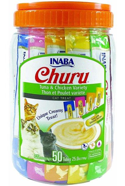 INA Churu Puree Tuna/Chicken 50pk