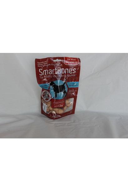 SmartBones Chicken Mini 24pk