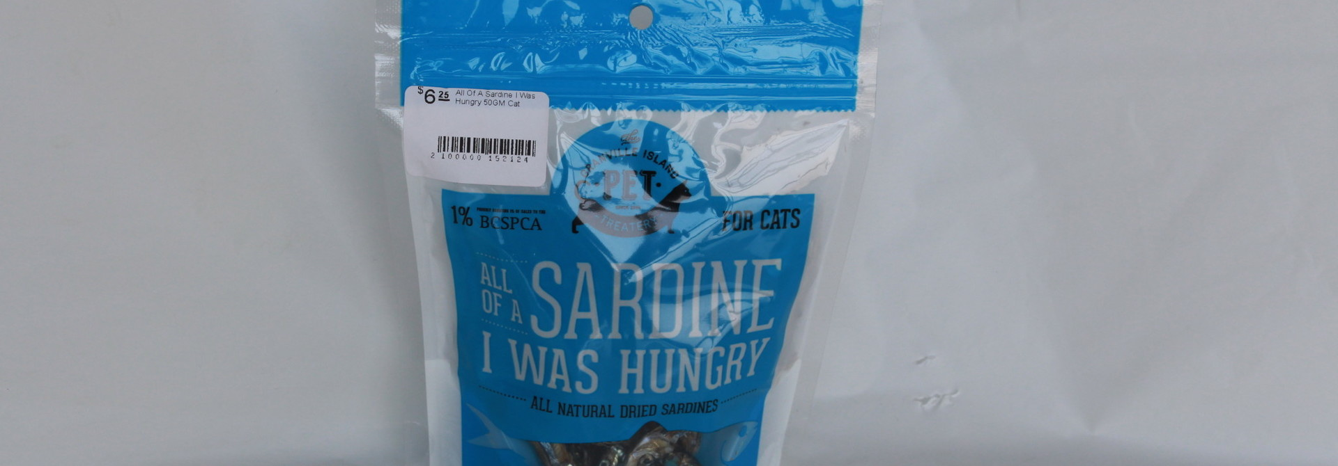All Of A Sardine I Was Hungry 50GM Cat