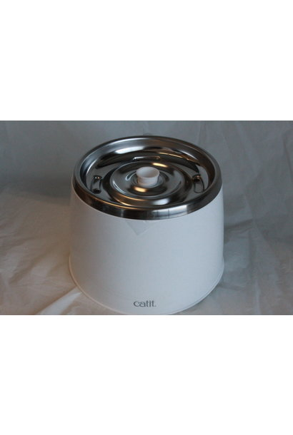 Catit Fresh & Clear Stainless Steel Top Fountain