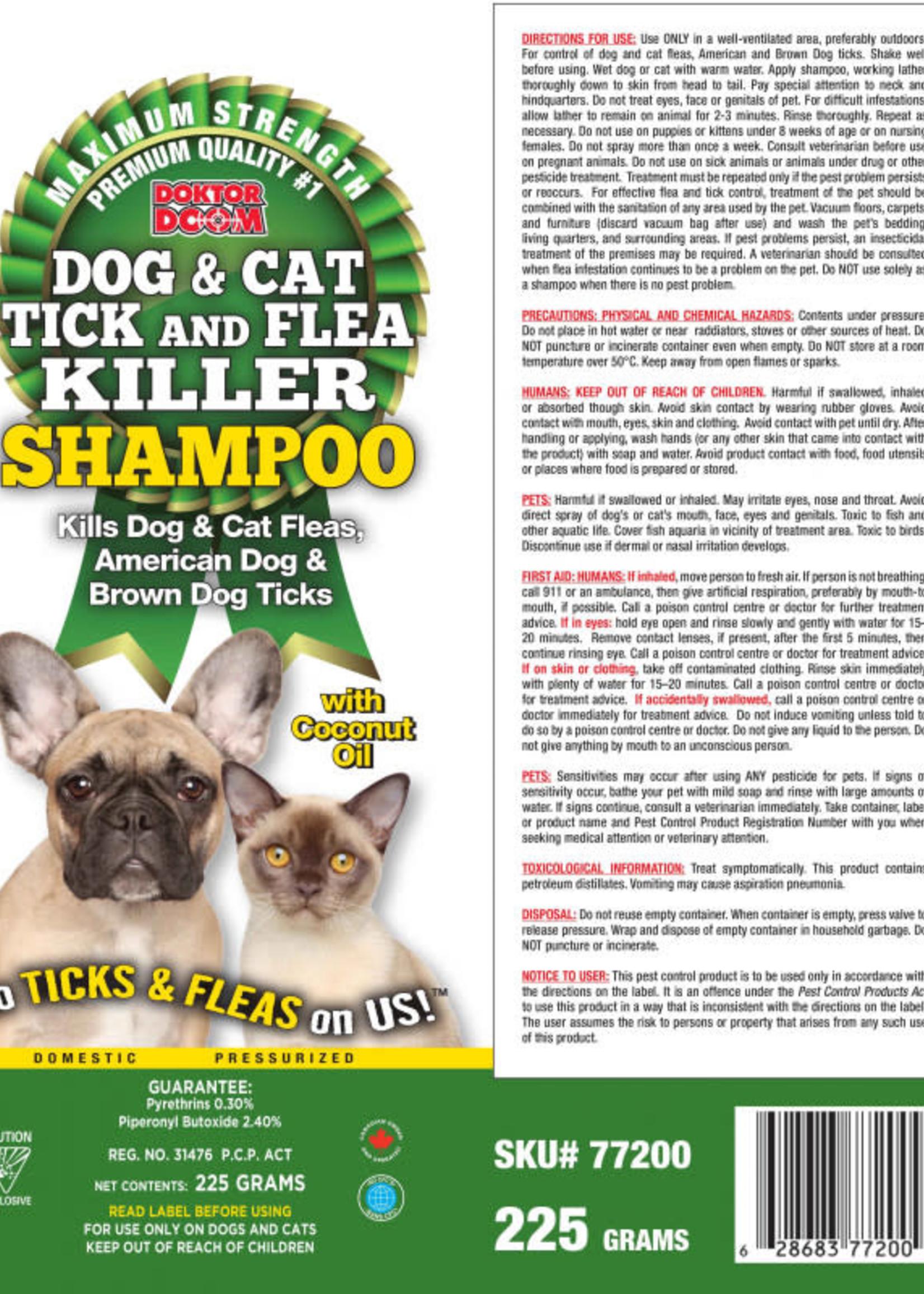 Ultrasol Dr Doom Flea & Tick Shampoo