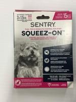 Sentry Flea,Tick&Mosquito Sqeeze-On (up to 15kg)