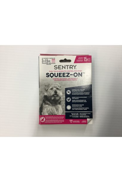 Squeeze-On Flea, Tick & Mosquito Small