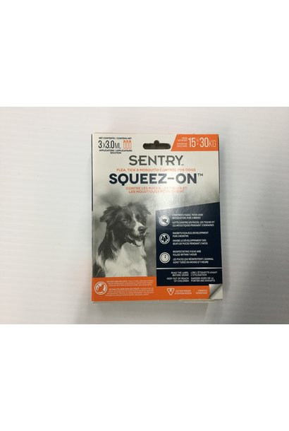 Squeez-On Flea, Tick & Mosquito Medium
