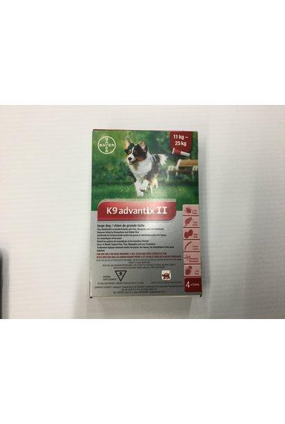 K9 Advantix II-Large Dog 11-25kg