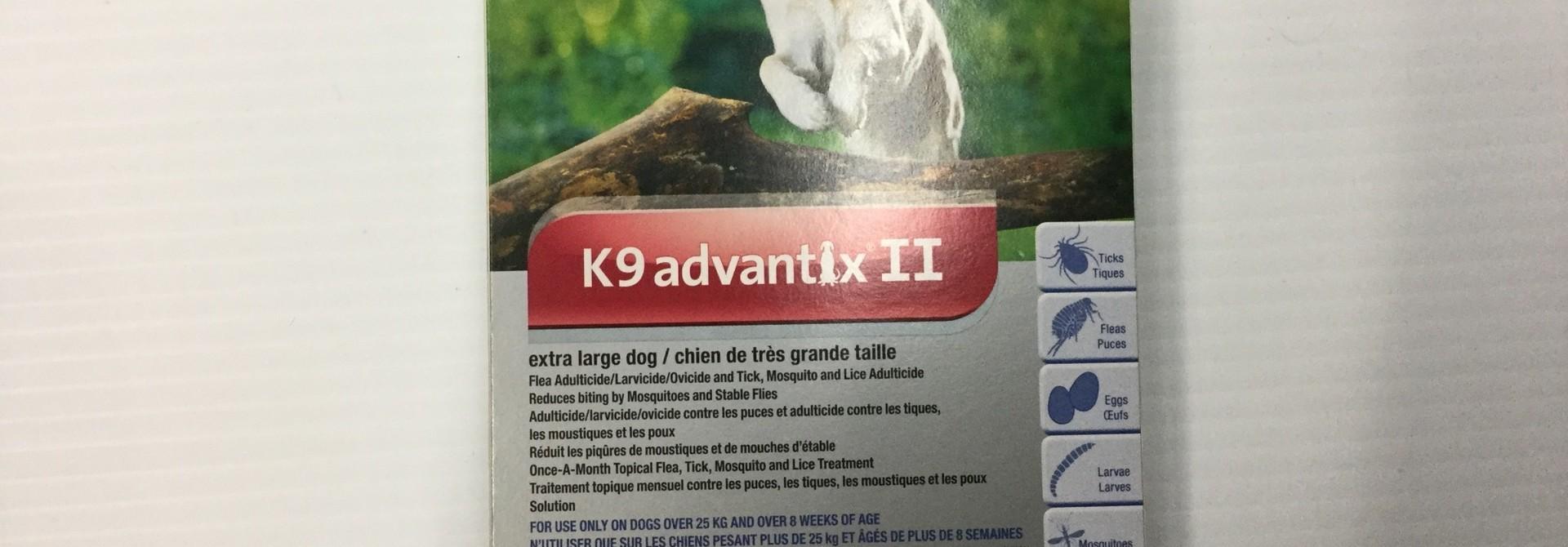 K9 advantix II-X-Large Dog Over 25kg
