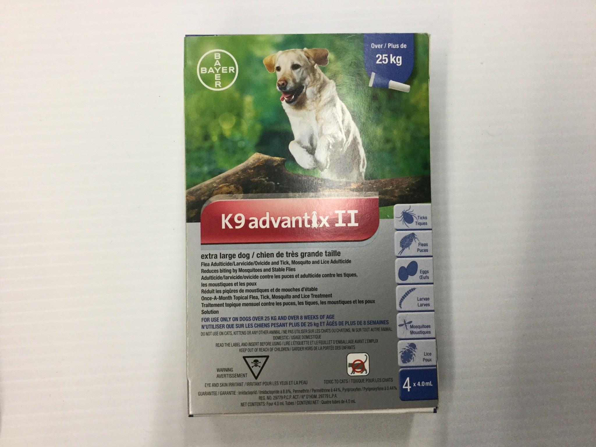 K9 advantix II-X-Large Dog Over 25kg-1