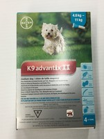 Bayer K9 advantix II-Medium Dog 4.6-11kg
