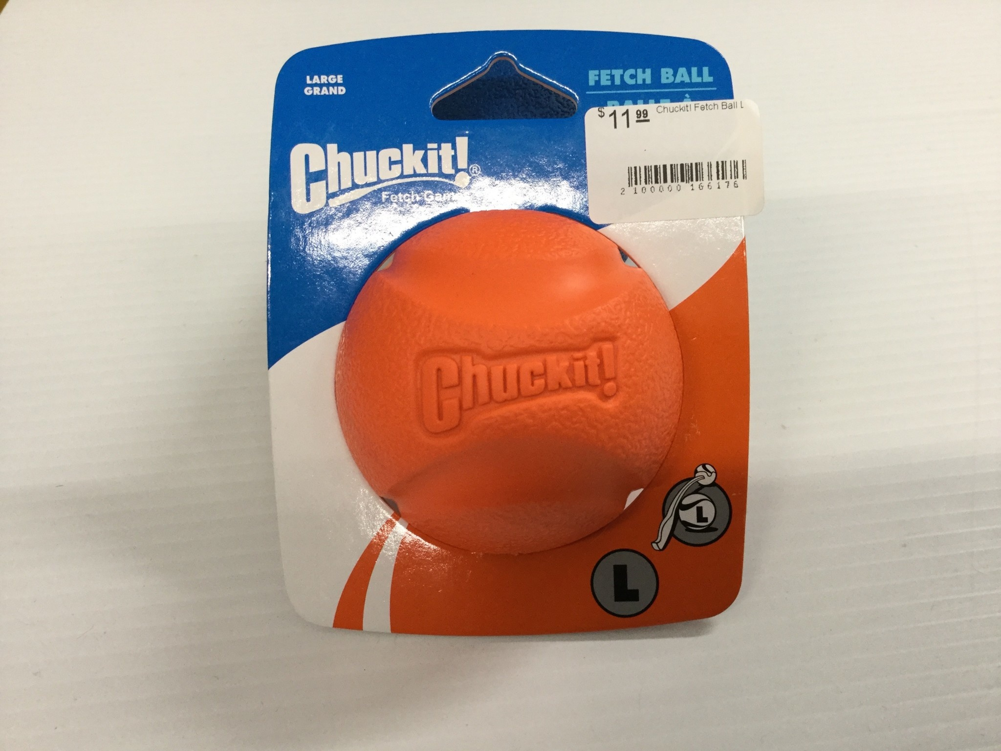 Chuckit! Fetch Ball Large Orange/Blue-2