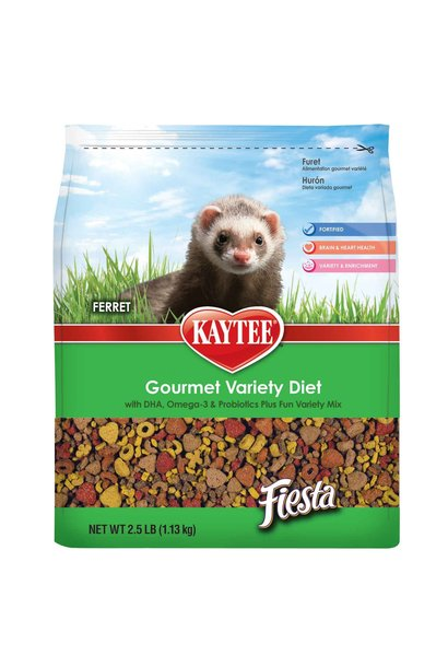 Fiesta Ferret Food 2.5LB