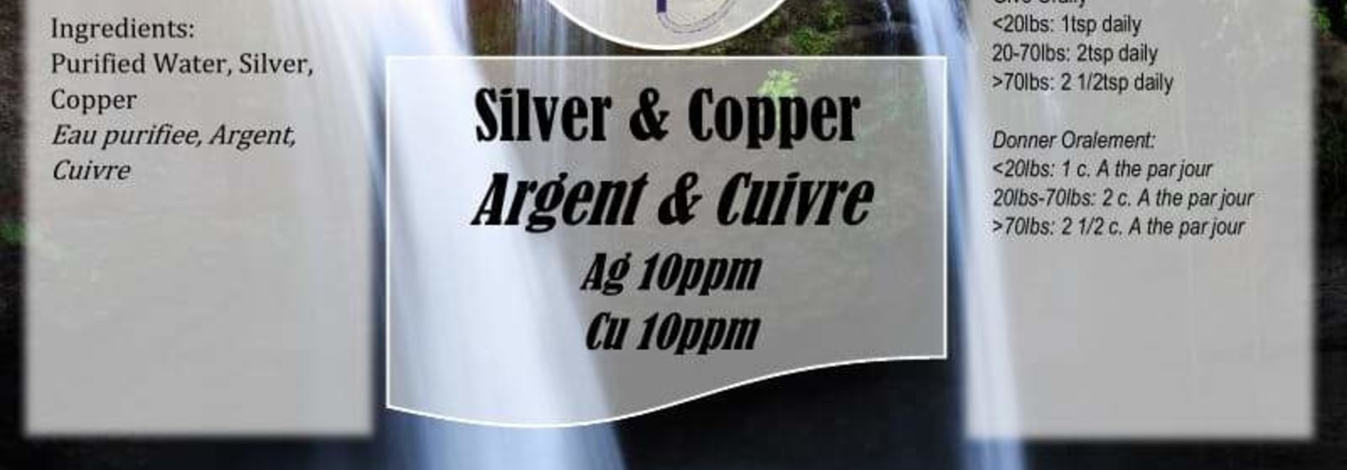 EarthMD Colloidal Silver/Copper Spray 250mL