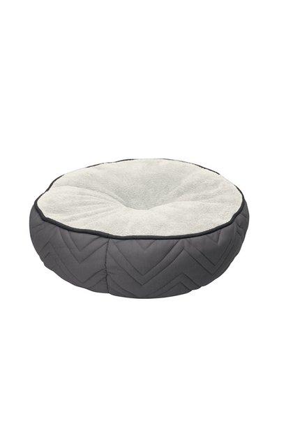 Dogit Round Mattress Bed - Grey,White
