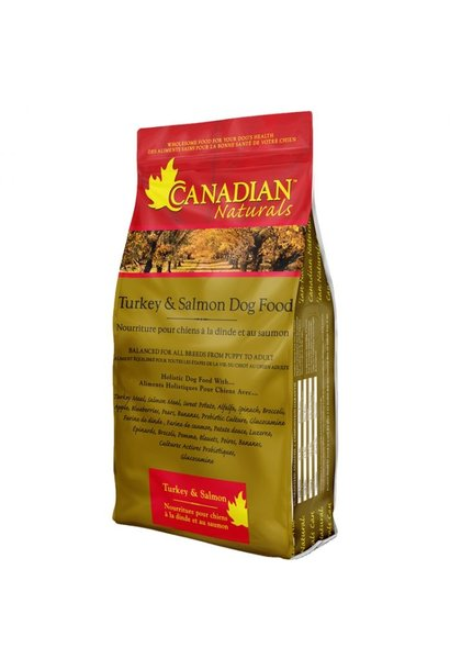 Canadian Naturals Turkey & Salmon Original 30LB