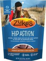 Zukes Zukes Hip Action Peanut Butter & Oats 6OZ