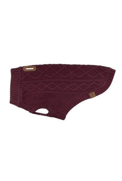 Cable Sweater S Fig