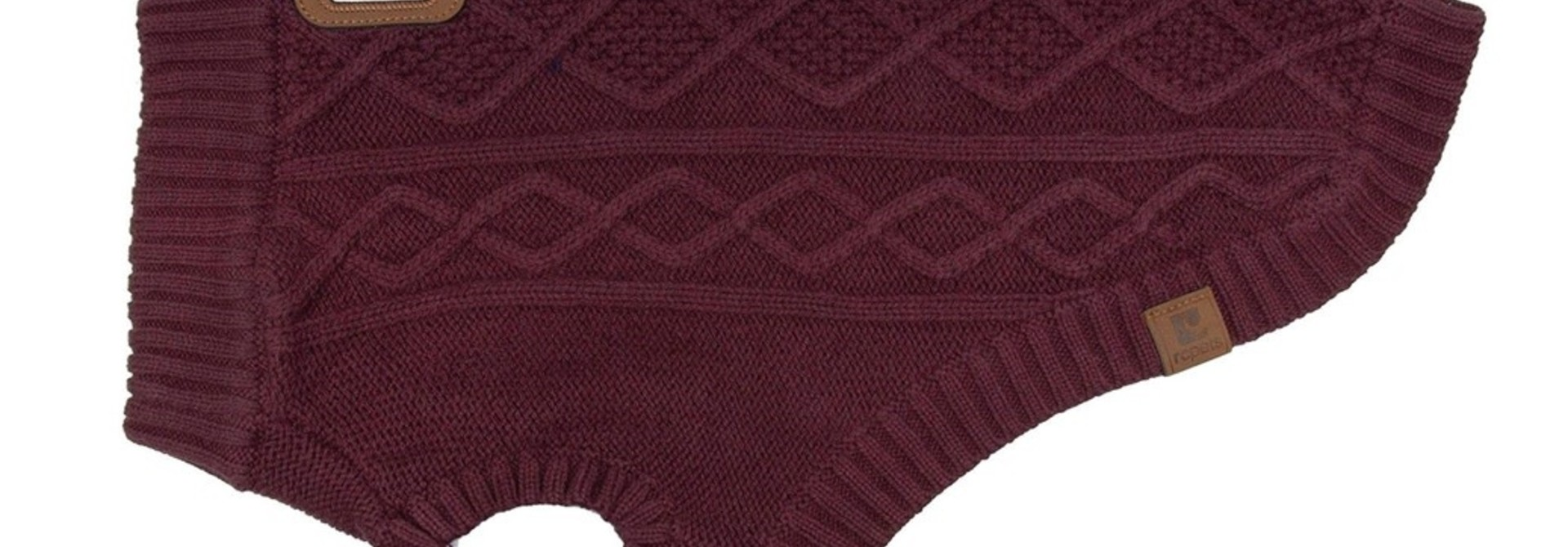 Cable Sweater M Fig