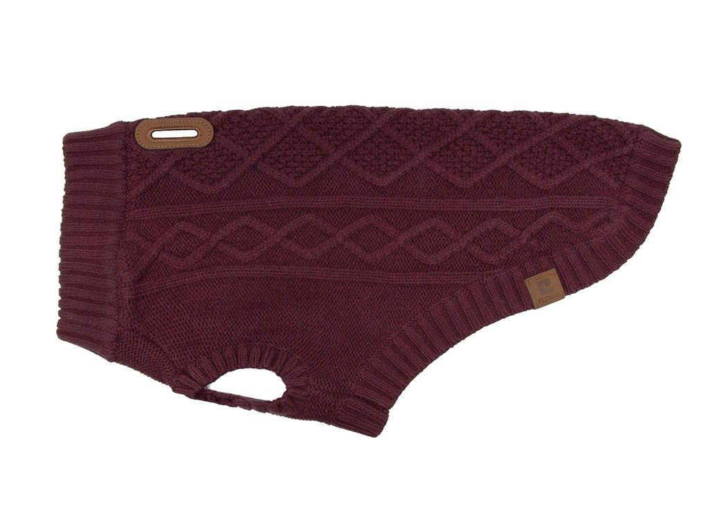 Cable Sweater M Fig-1