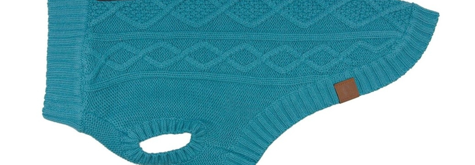 Cable Sweater XS Dark Teal