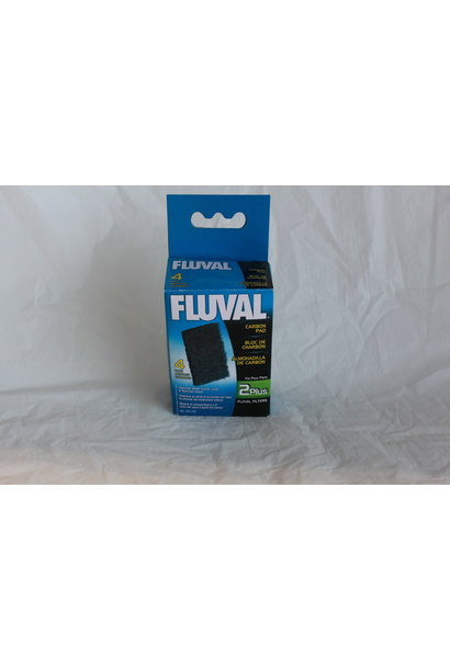 Fluval 2 Plus Special Carbon Pads, 4 pack