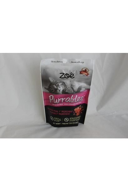 Zoë Purrables Cat Treats, Salmon, 75g