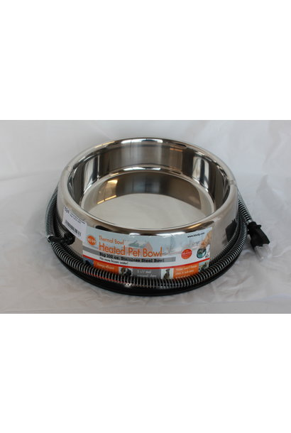 Thermal Bowl Stainless Steel 120OZ 25W