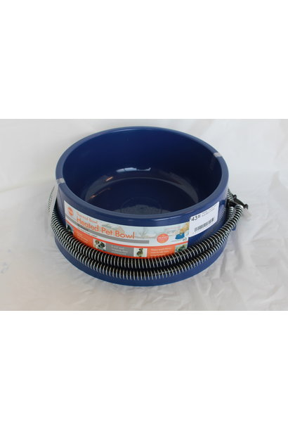 Heated Thermal Bowl Blue 96OZ 25Watt