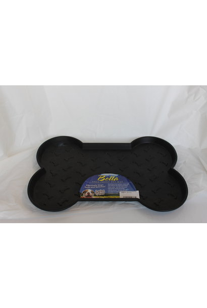 Bella Spill Proof Dog Mats Large Black