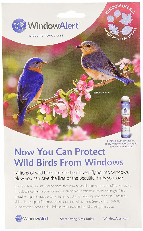 Window Alert 5 Leaf Decal-1