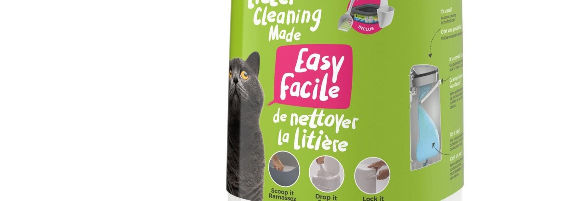 LitterLocker Design Plus Cat Litter Pail