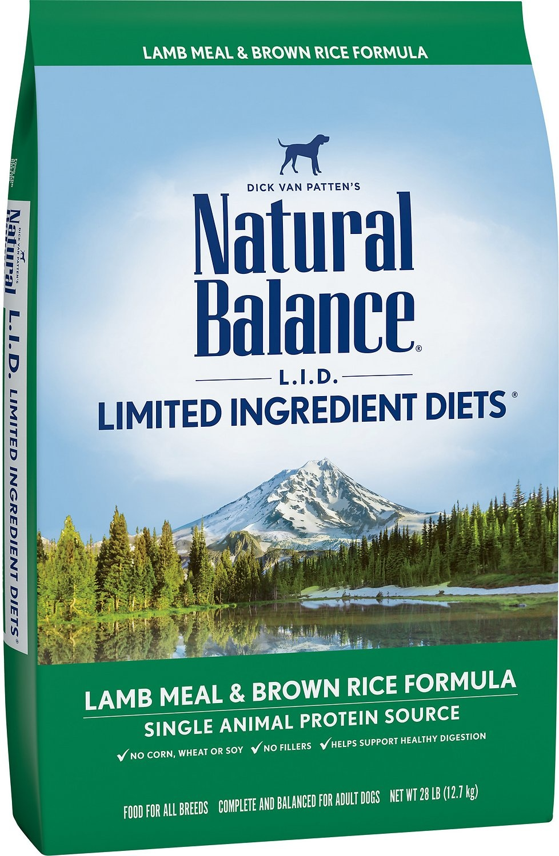 Natural Balance Lamb & Brown Rice-1