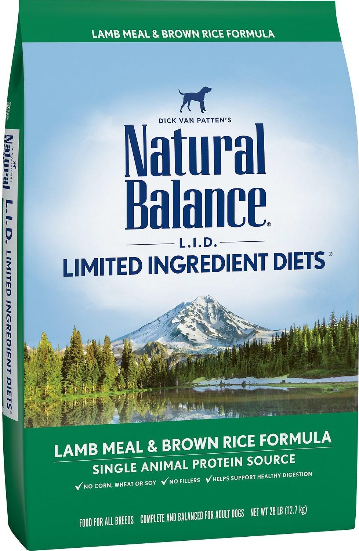 NB LID Lamb & Brown Rice 28LB-1