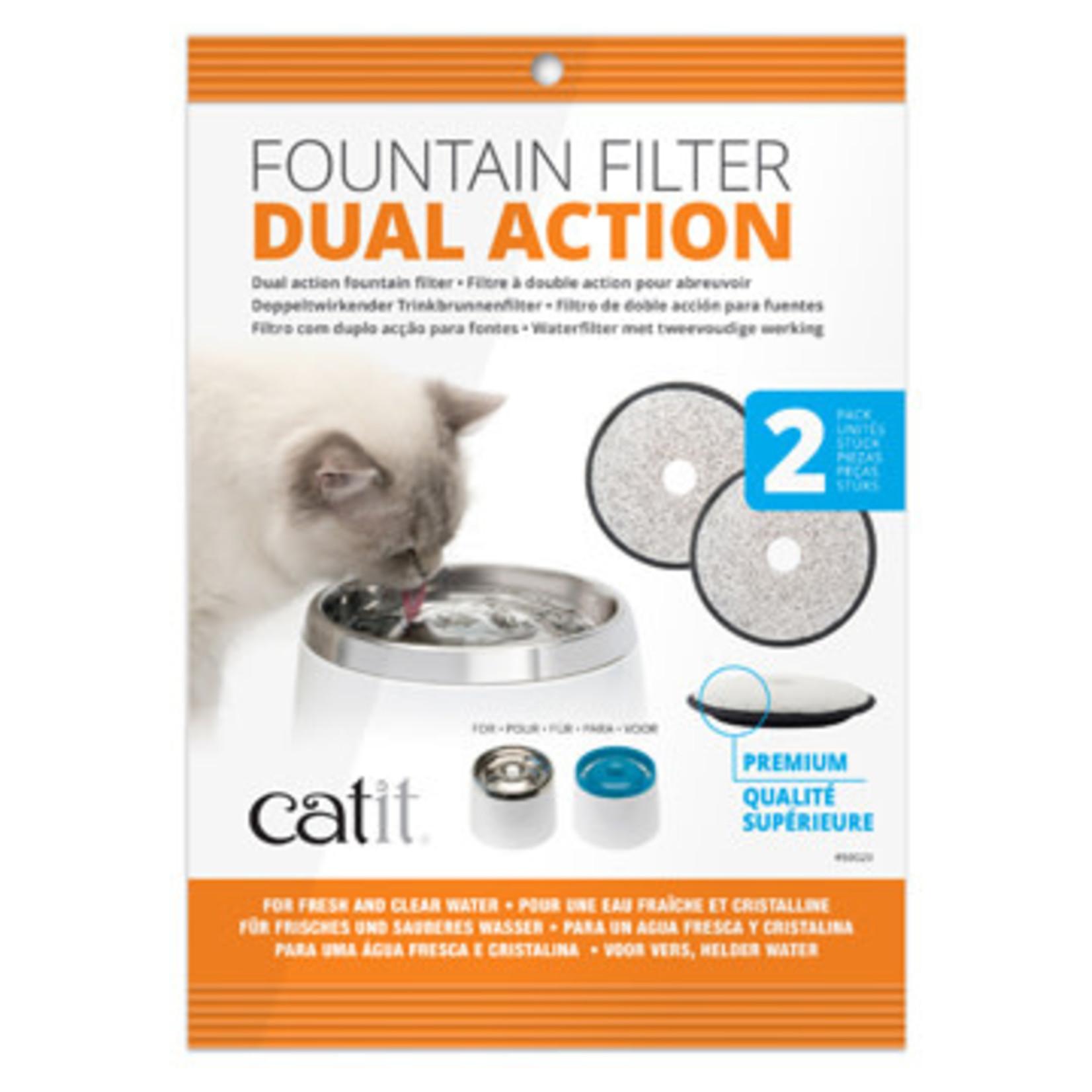 CatIt Catit Premium Replacement Filters, 2pk