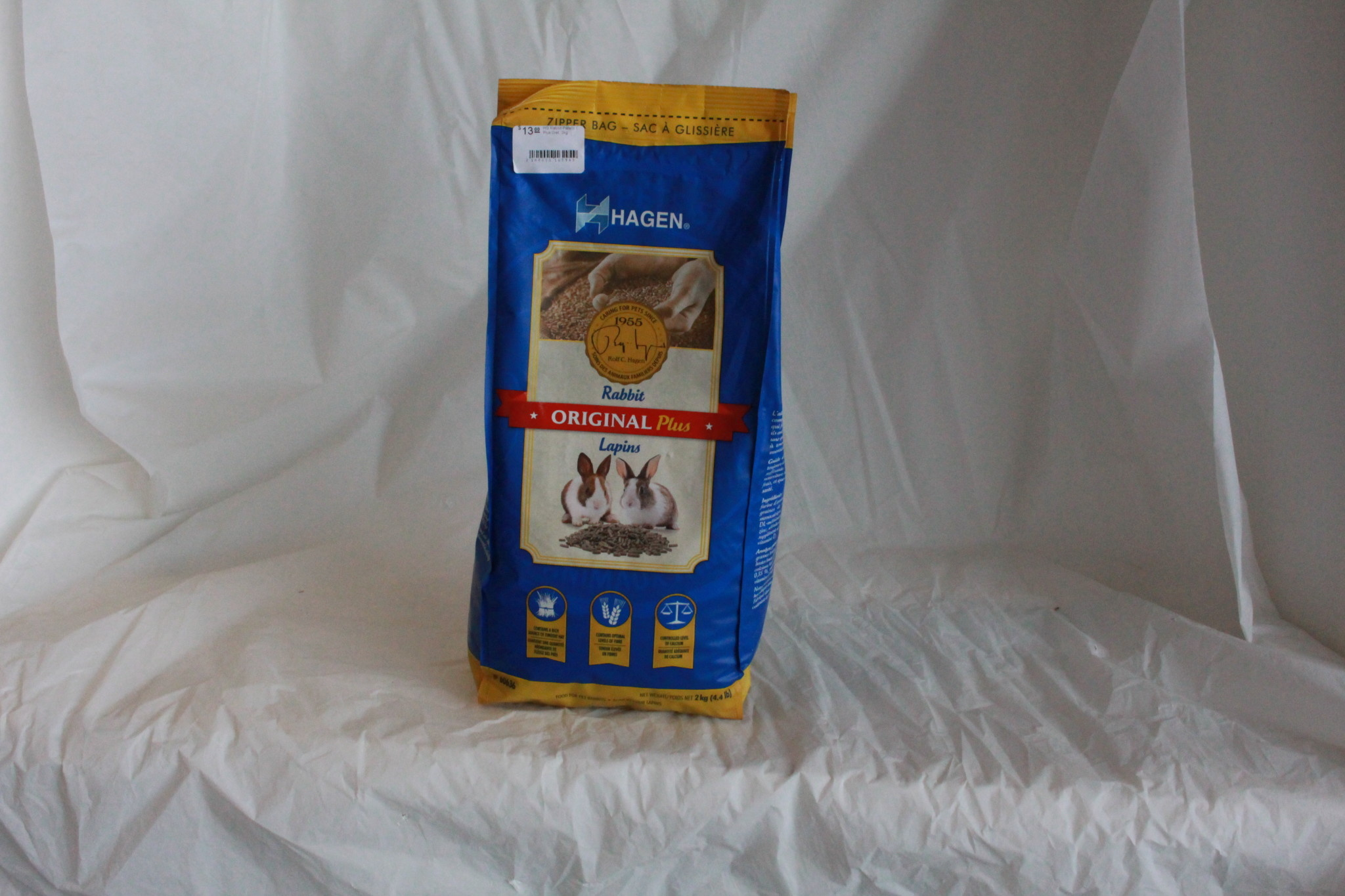 Hagen Original Plus Rabbit Food - 2 kg (4.4 lb)-3
