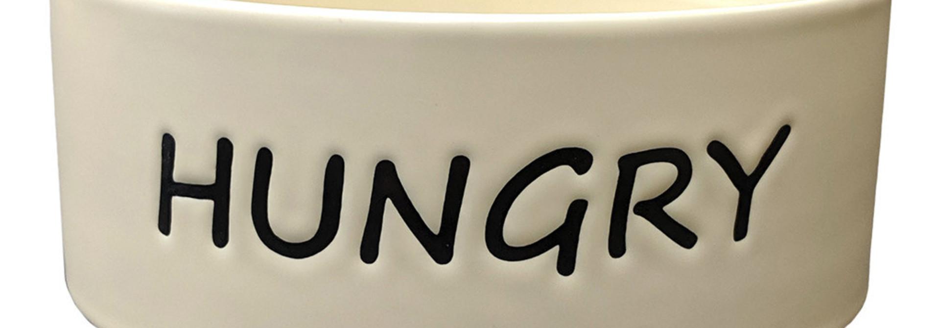 "Hungry Dog Dish 7"""