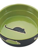 Spot Fresco Cat Dish Green 5