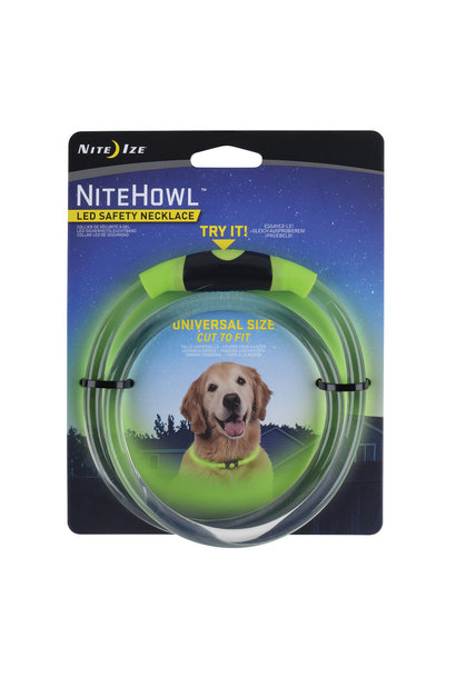 Nite Howl LED Safety Necklace Green
