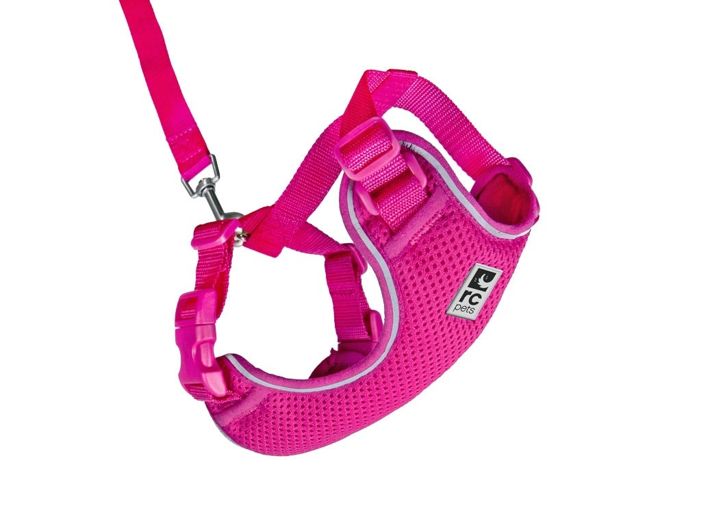Adventure Kitty Harness Small Raspberry-1