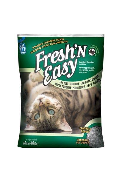 Catit Fresh N Easy Cat Litter - Pine Scent - 18 kg (40 lbs)
