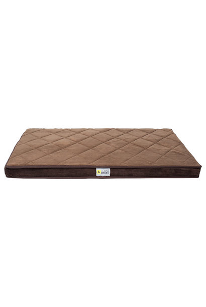 Diamond Bed Brown Large 46x35""