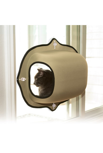 Kitty Sill EZ Mount Window Pod Tan 27x20""
