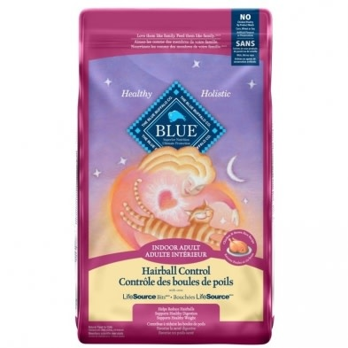 Blue Cat Adult Indoor Health Hairball Chicken & Brown Rice 7lb-1