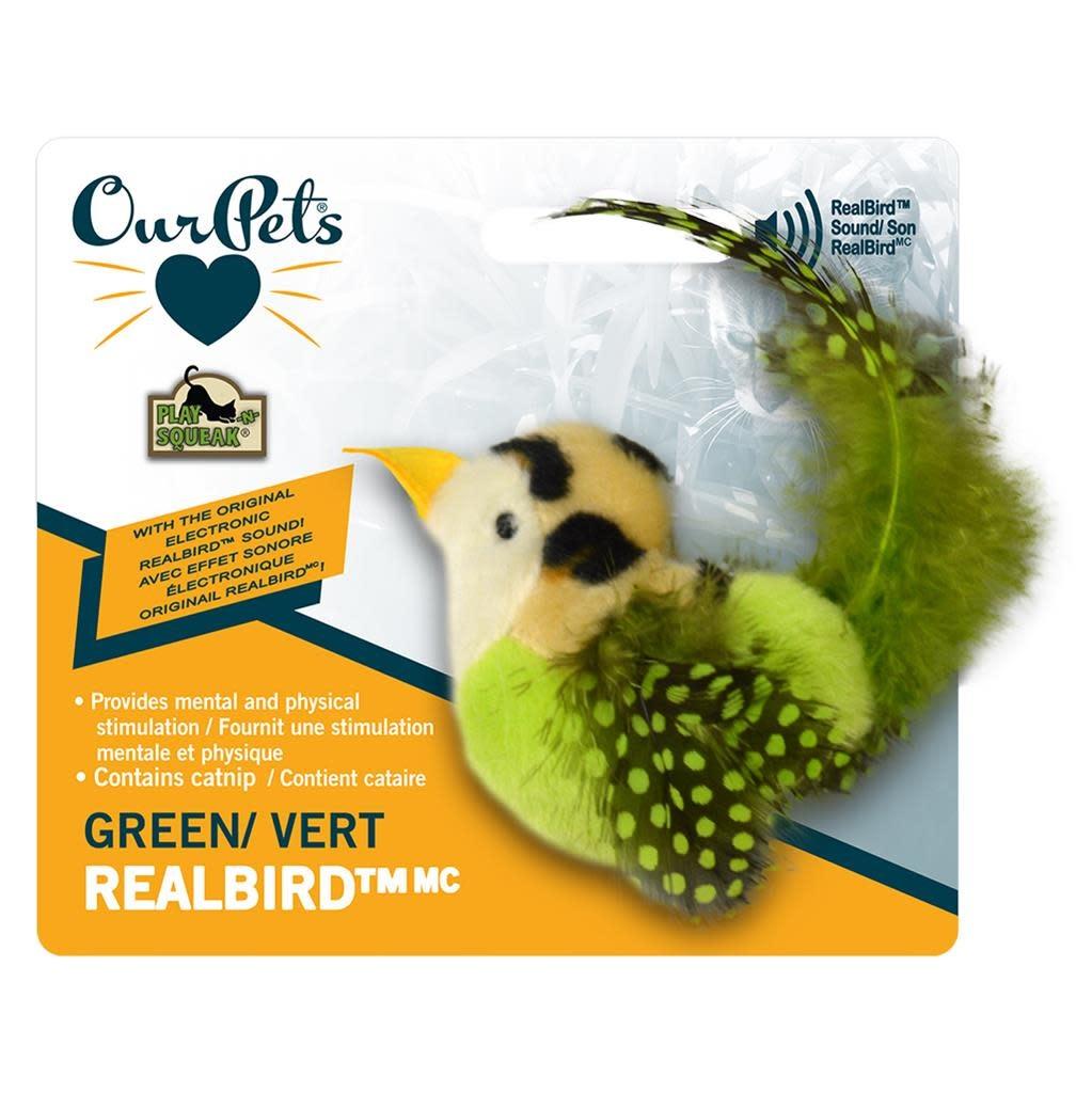 RealBirds Green Cat-1