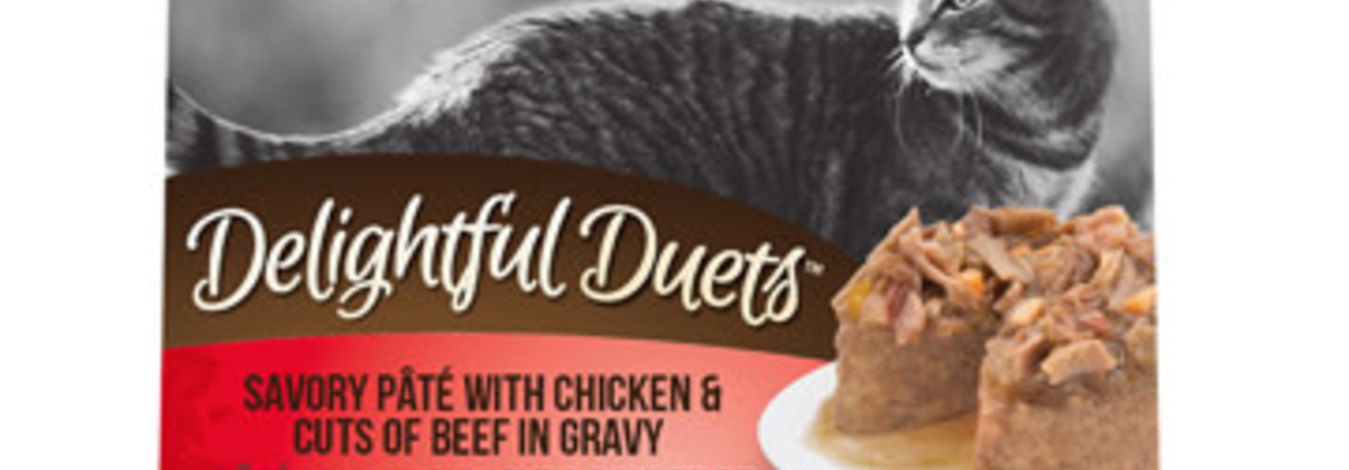 Zoe Delights Duets Pate Chicken - Beef cuts 80g