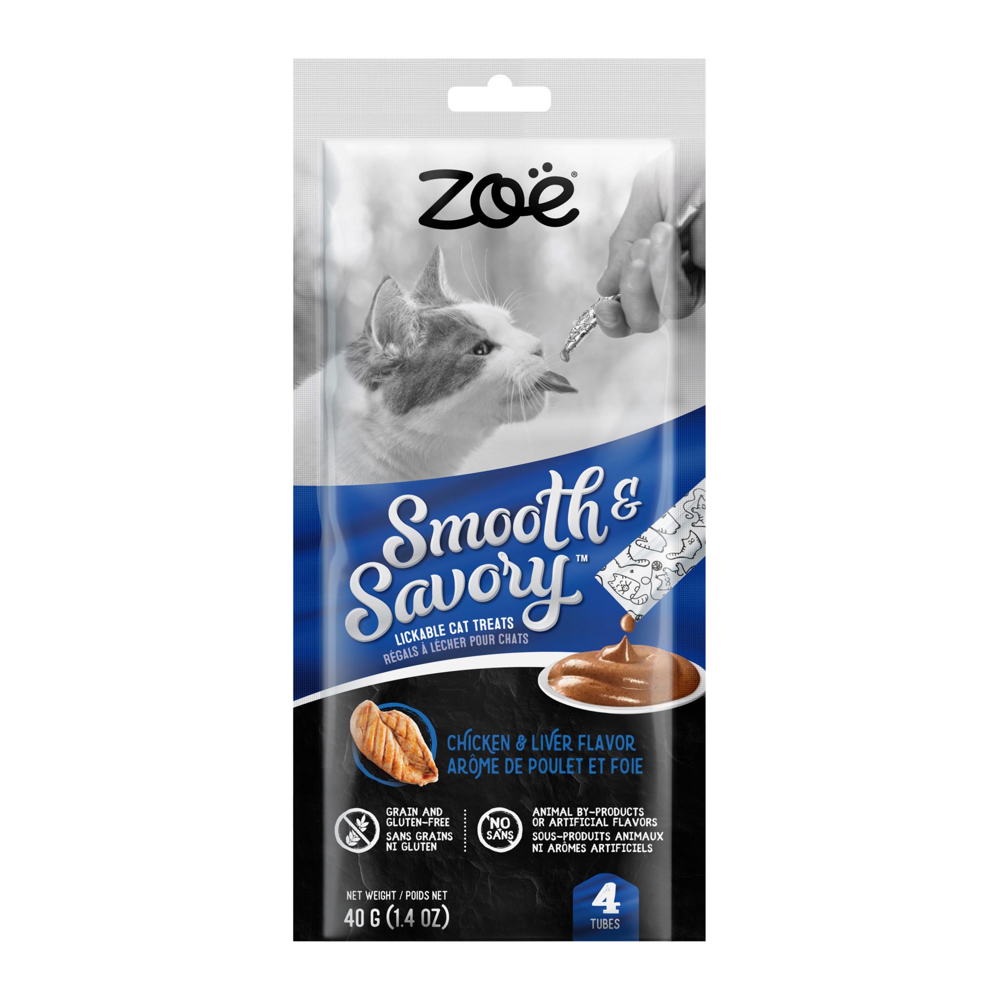 Zoe Lickable Smooth & Savory Treats-Chicken & Liver-1