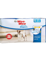 Wee-Wee Wee-Wee Disposable Diapers Small 12PK